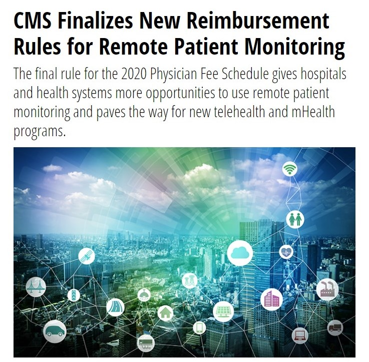 CMS Finalizes New Reimbursement Rules