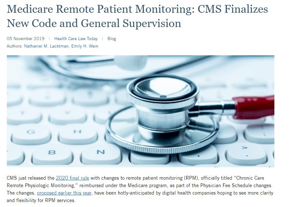 Medicare Remote Patient Monitoring
